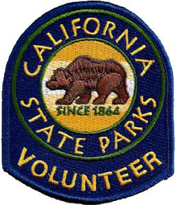 California State Parks Volunteer Embroidered Patch